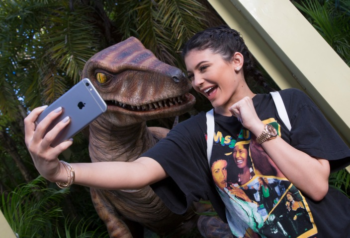 Kylie Jenner Visits Universal Orlando