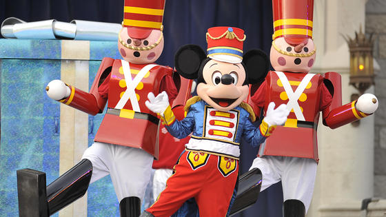 "No Christmas ""parade"" taping at Disney World this year ..."